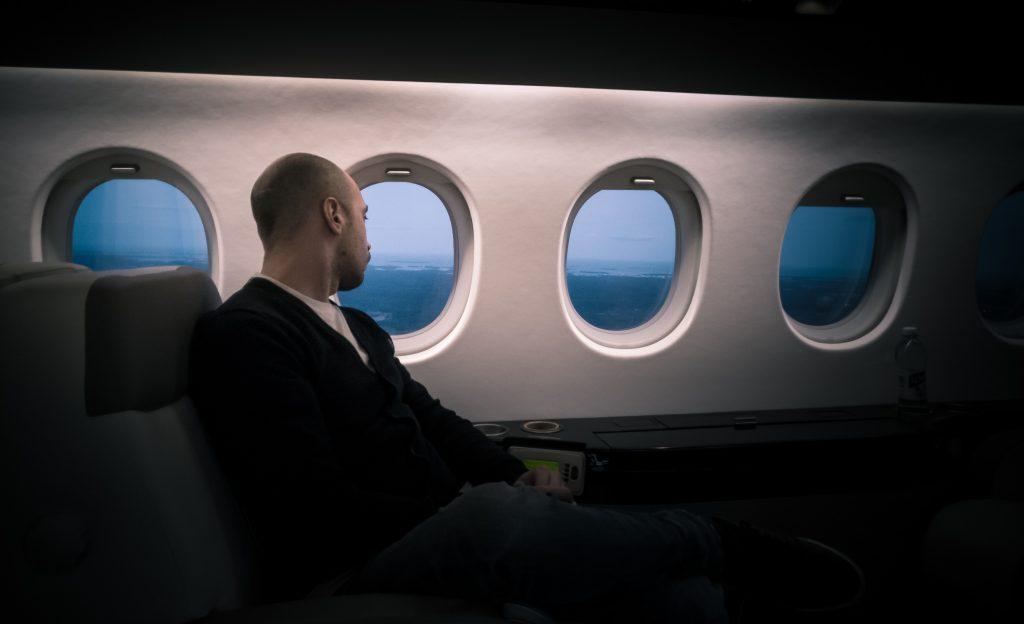 interior pesawat