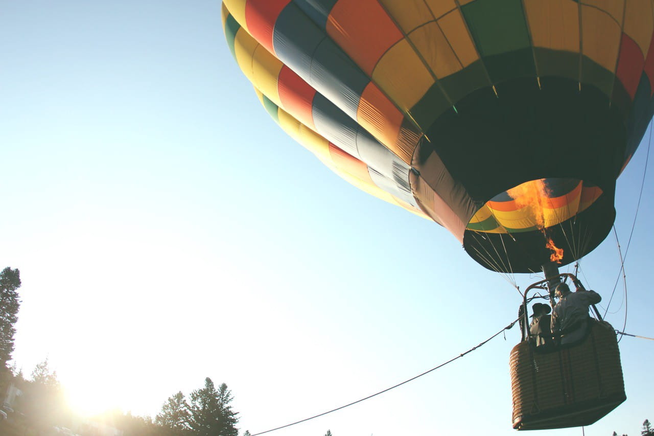 wisata balon udara thailand