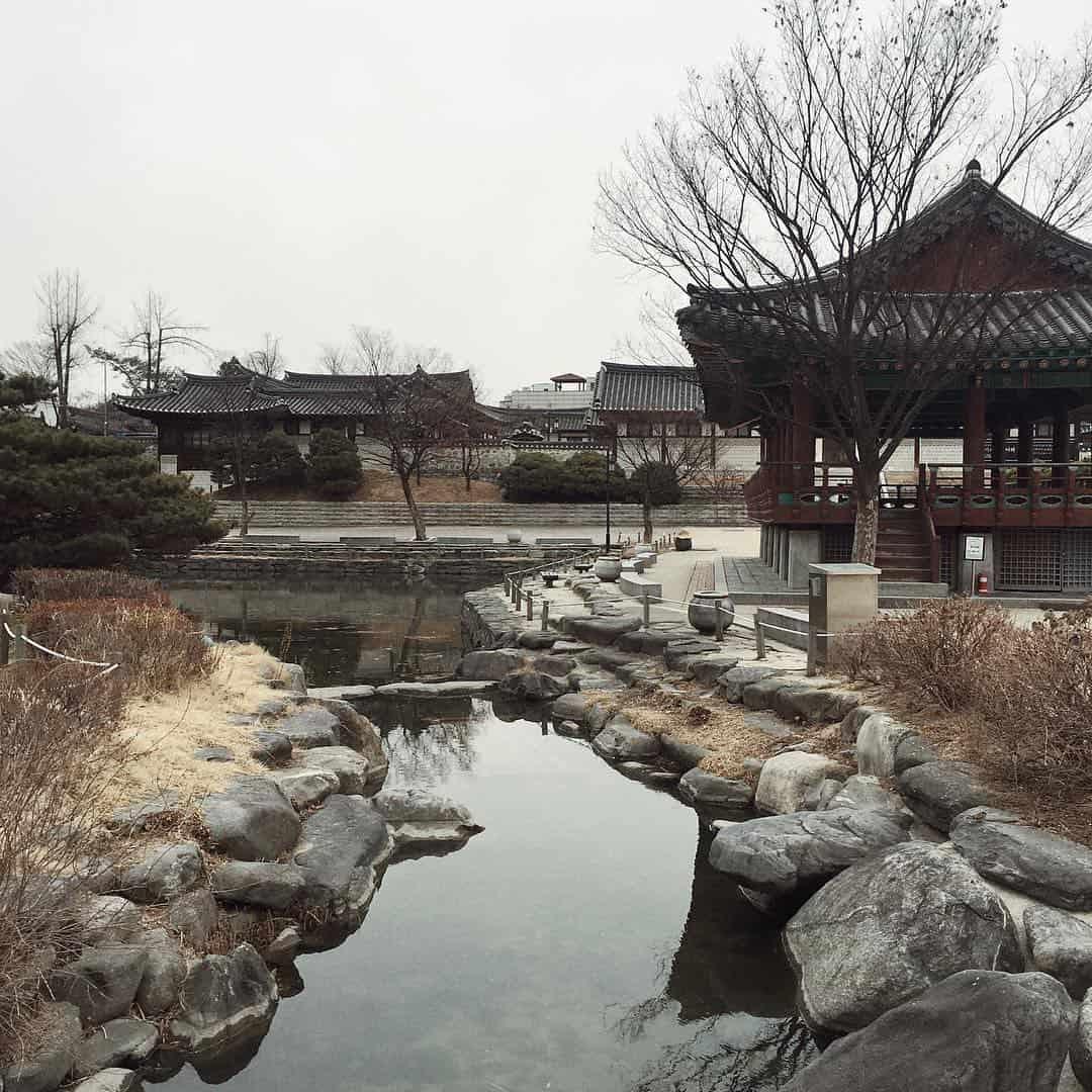 Namsangol Hanok Village Sumber Instagram angelinadanilova-min