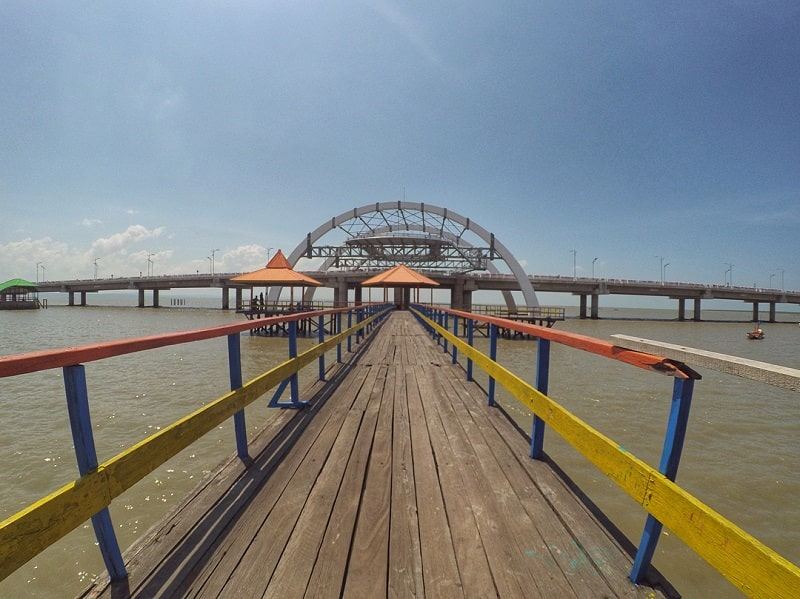 Wisata Keluarga Murah Ke Pantai Kenjeran Surabaya Saja