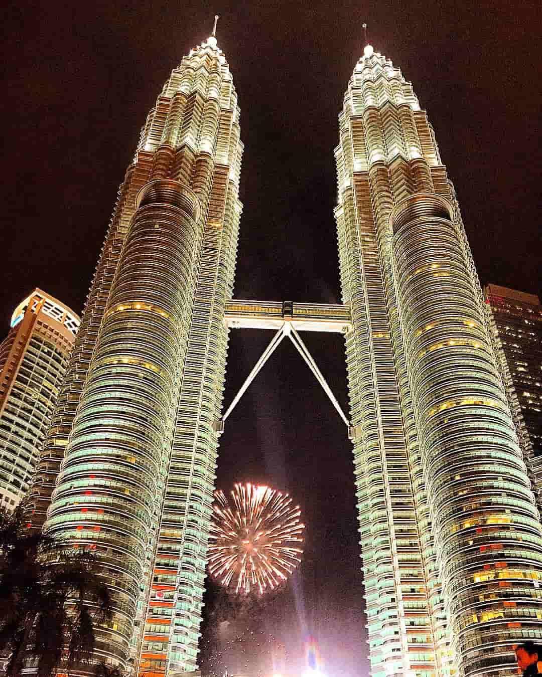 Tahun Baru di Kuala Lumpur Sumber Instagram pictocracy