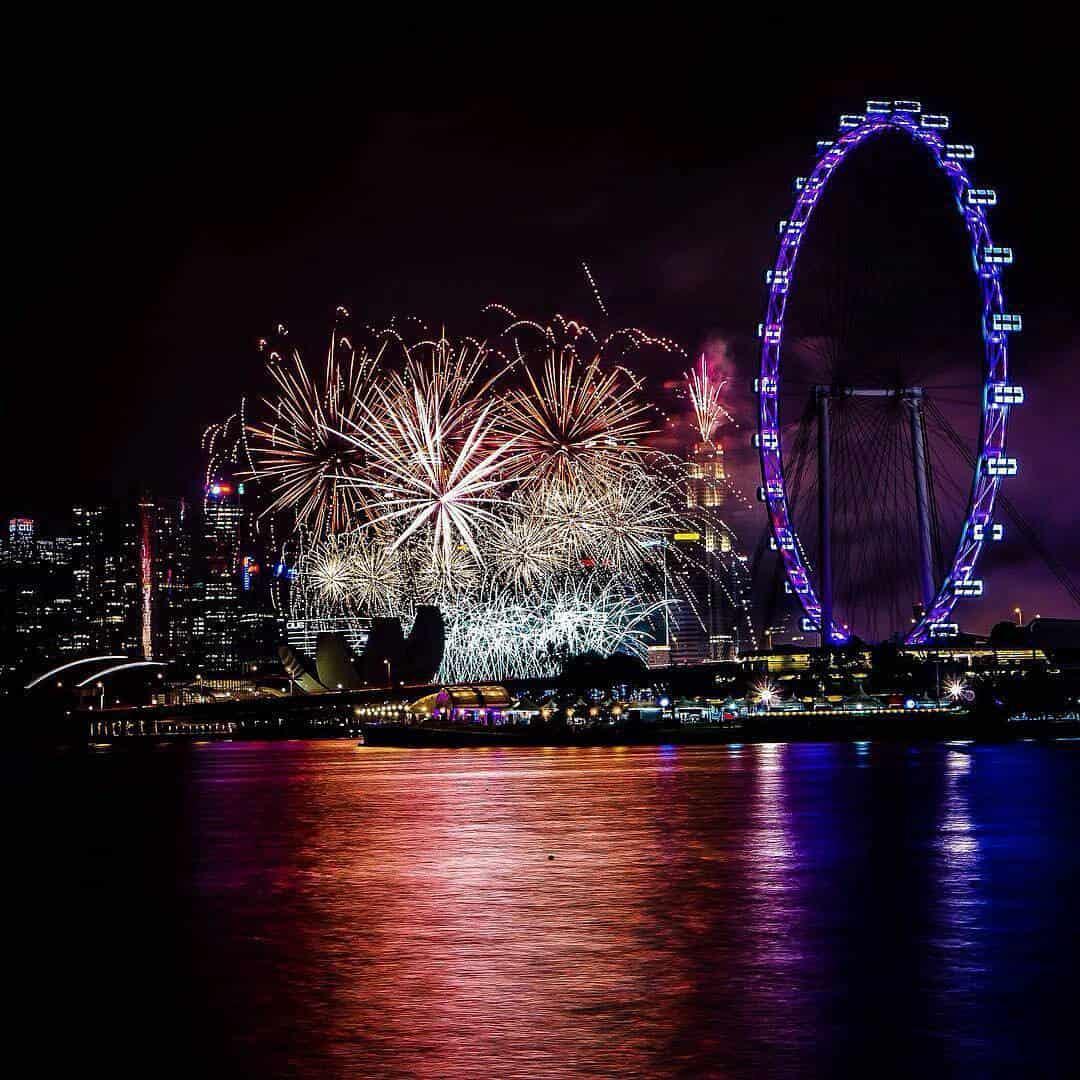 Tahun Baru di Singapura Sumber Instagram sowmi.karthi-min