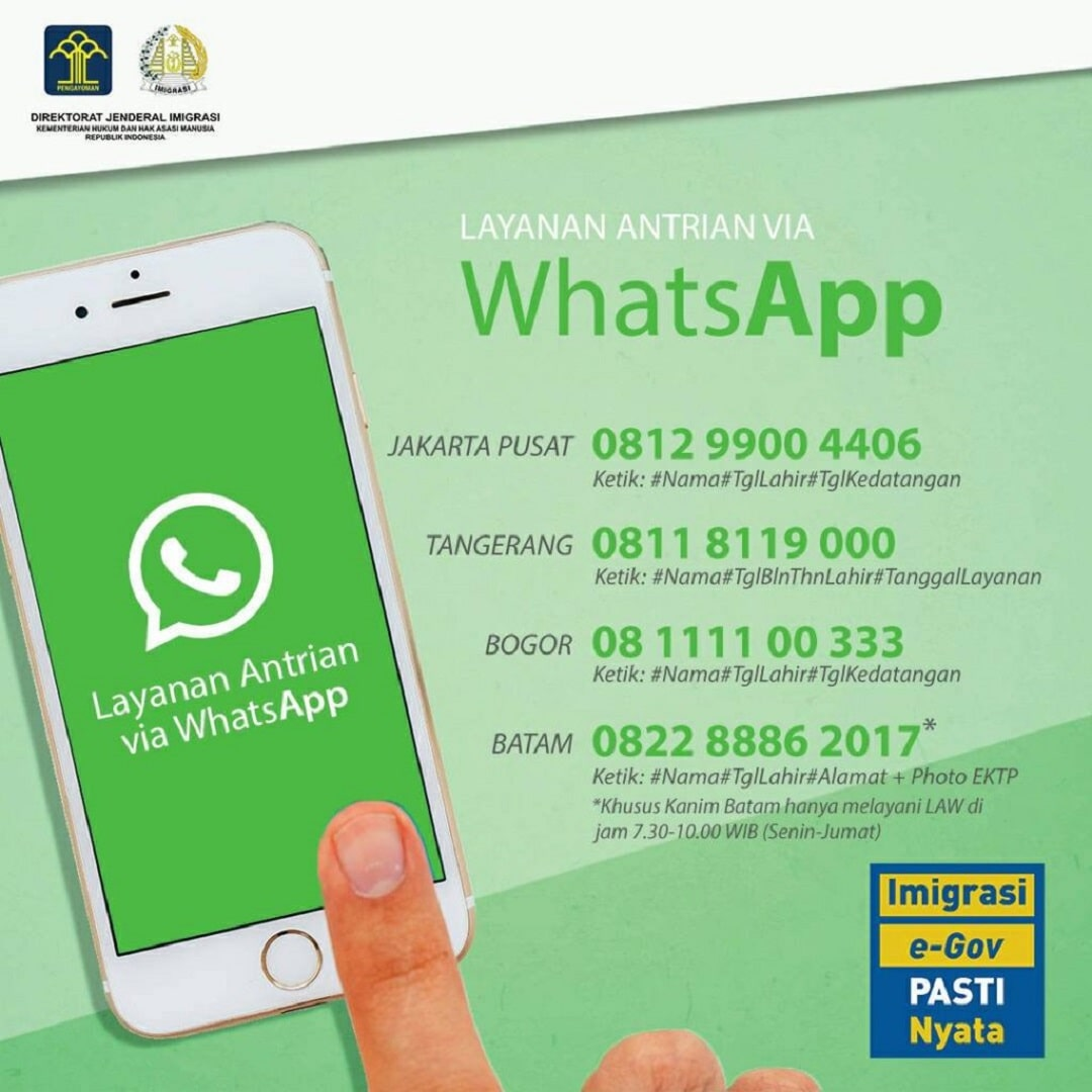 Cara Mudah Membuat Paspor Online Lewat WhatsApp