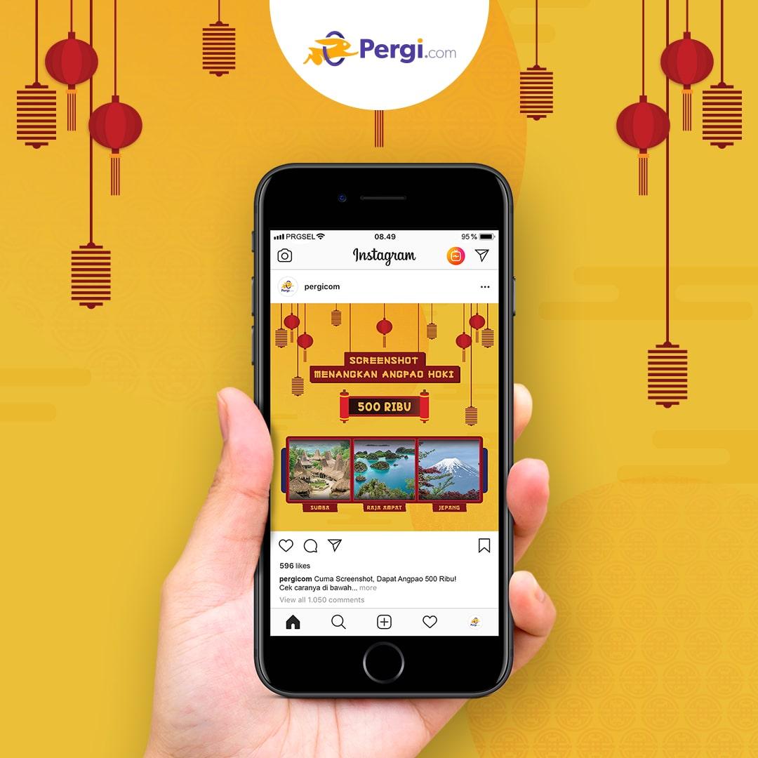 Kuis Giveaway Traveling Angpao Hoki Pergicom