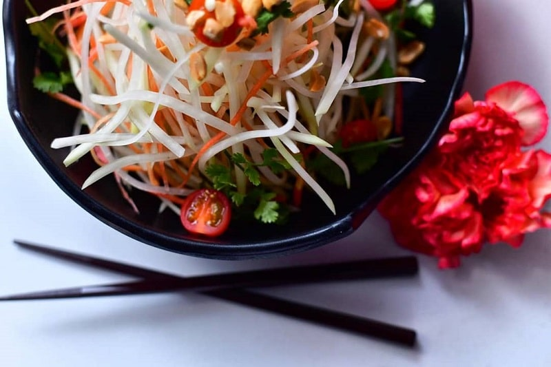 Kuliner KhasKuliner Khas Thailand Som Tam Sumber Instagram shiso_yuchoi-min Thailand Kaeng Khiao Wan