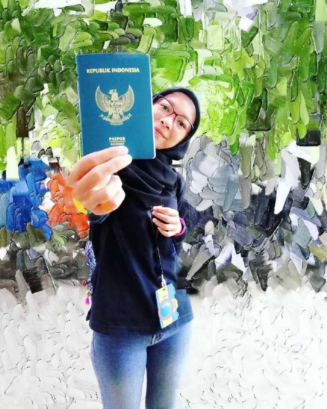 Cara Membuat dan Keuntungan Memiliki E-paspor Indonesia Sumber Instagram daramoonmata