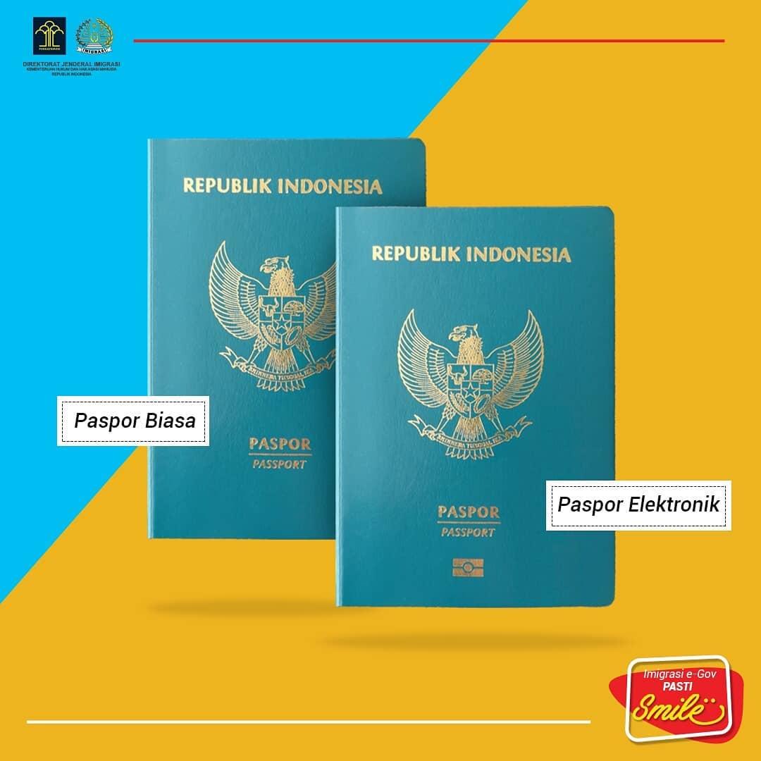 Cara Membuat dan Keuntungan Memiliki E-paspor Indonesia Sumber Instagram ditjen_imigrasi