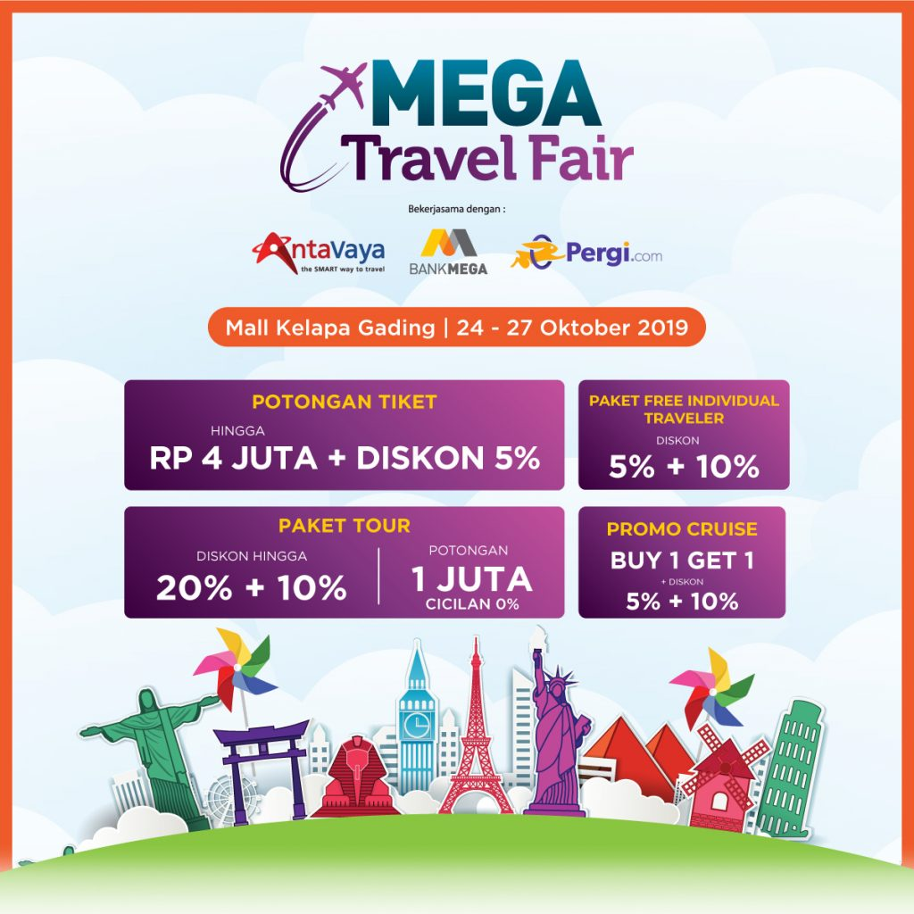 mega travel fair 2019