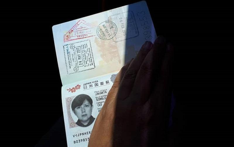 Cara Membuat Visa Jepang - Sumber Instagram napaktilas