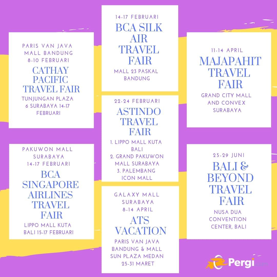 Travel Fair di Luar Jakarta